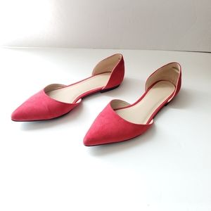 Forever 21 Womens Red Flats